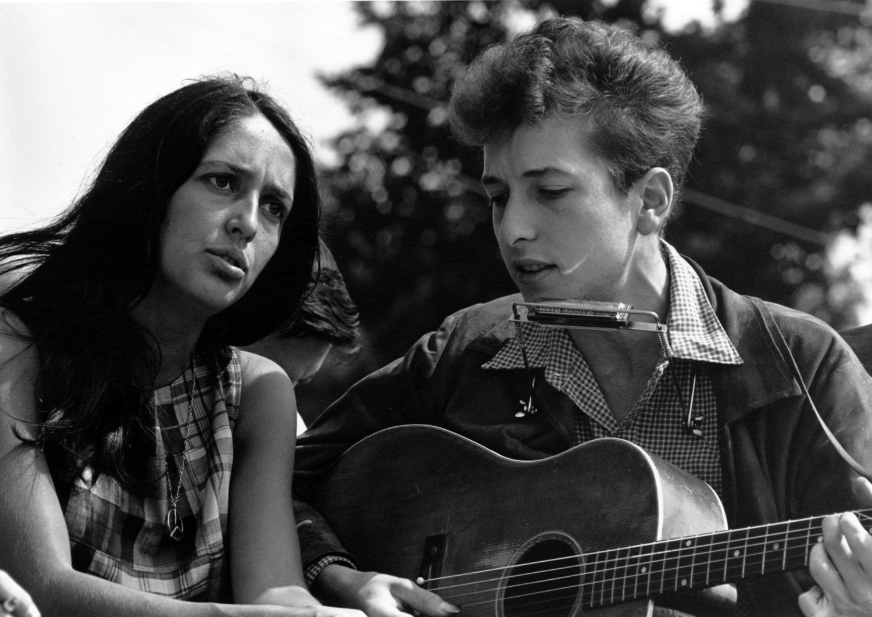 Folk Dylan Baez